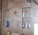 Master Bath Shower Niches